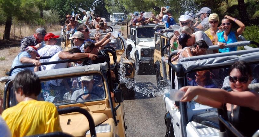 Джип сафари в Мармарисе