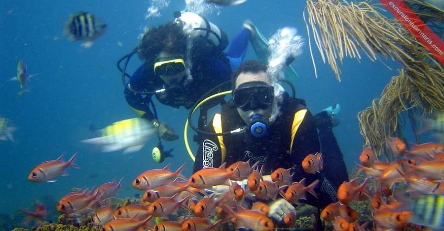 Погружение с аквалангом в Мармарисе