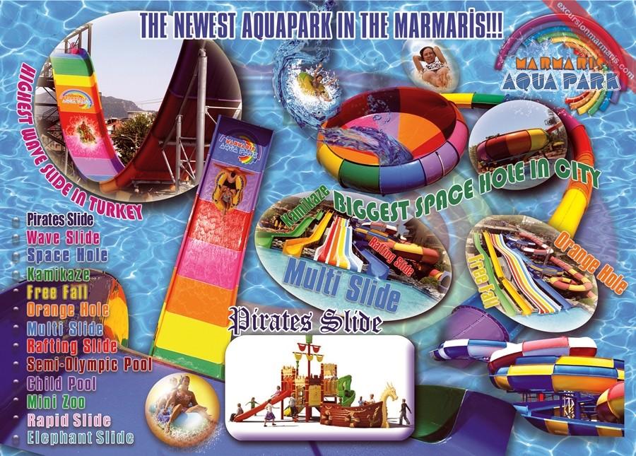 Аквапарк в Мармарисе - Все включено