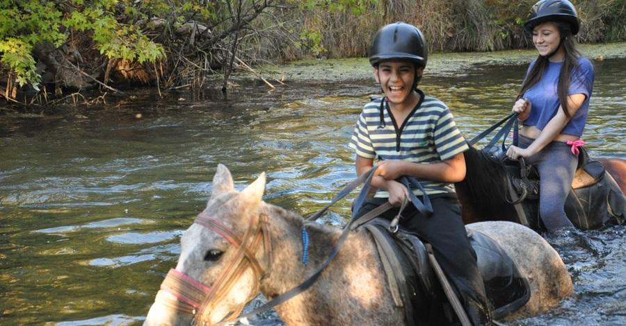 Прогулка на лошадях в Мармарисе
