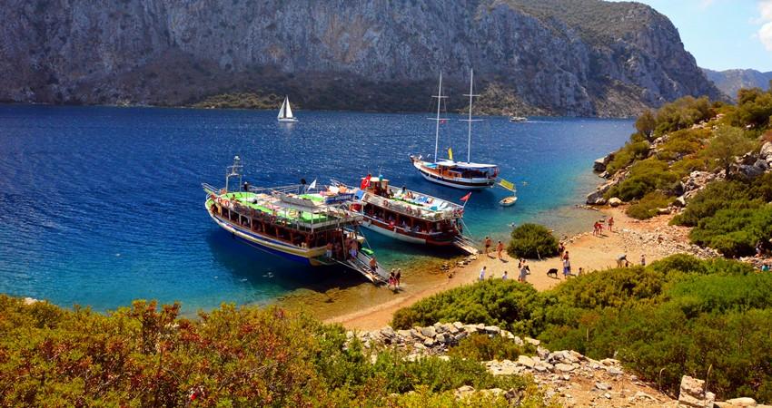 Эгейские Острова из Ичмелера