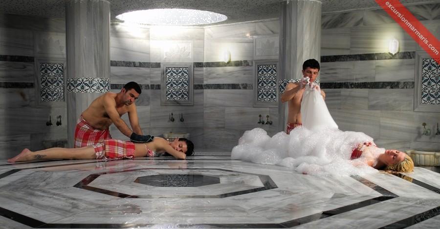 Турецкая баня в Ичмелер