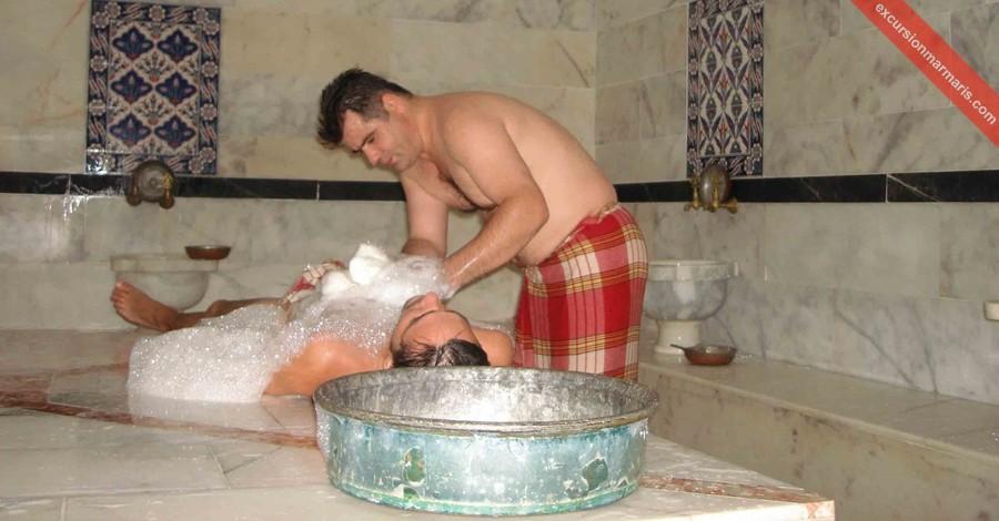 видео как моются в турецкой общей бани - 3