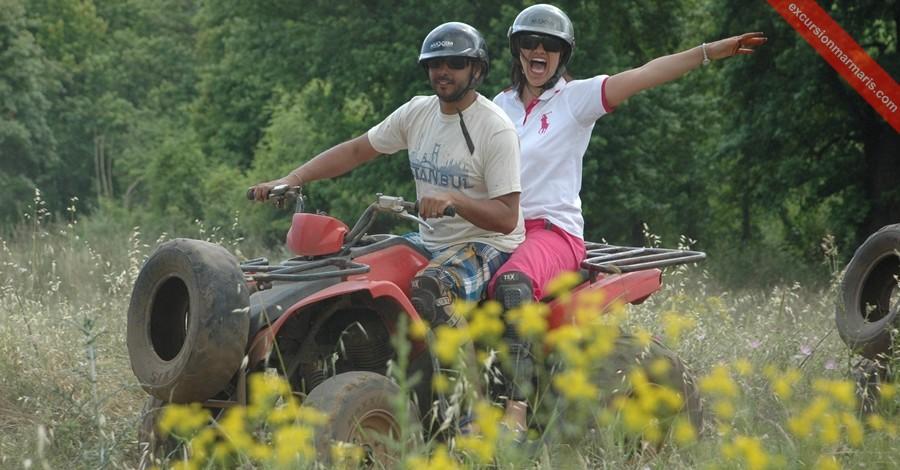 Квадроциклы в Мармарисе