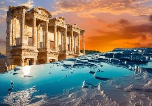 Экскурсия Эфес — Памуккале из Мармариса