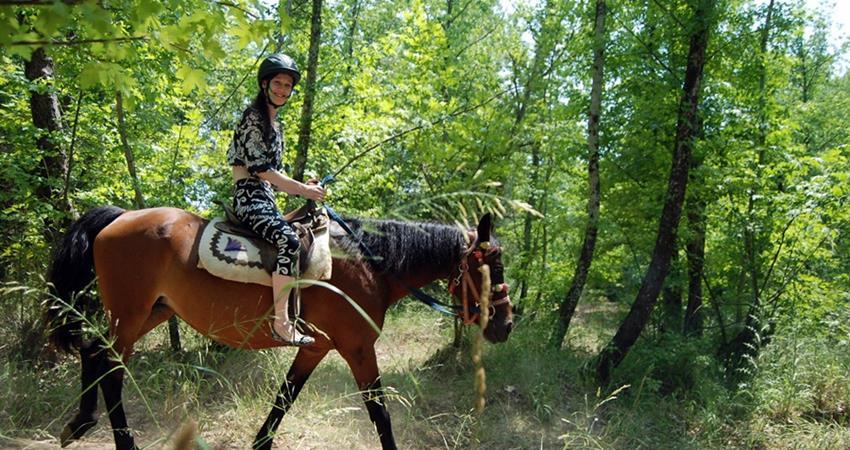Прогулка на лошади в Турунче
