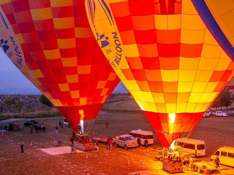 Тур на воздушном шаре из Ичмелера